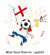 English Football Fan - ©Can Stock Photo Inc. / gubh83