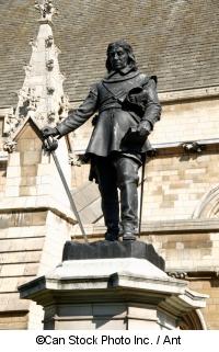 Oliver Cromwells Statue vor dem Parlamentsgebäude - ©Can Stock Photo Inc. / Ant