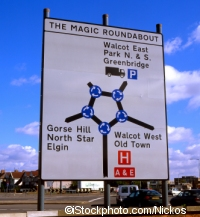 The Magic Roundabout in Swindon ©iStockphoto.com/Nickos