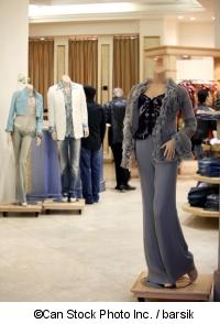 Kleider im Kaufhaus - ©Can Stock Photo Inc. / barsik