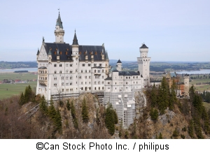 Schloss Neuschwanstein dient als Kulisse für Vulgaria - ©Can Stock Photo Inc. / philipus