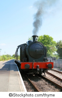 Dampflokomotive - ©iStockphoto.com/thyme
