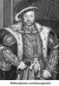 Heinrich VIII. - ©iStockphoto.com/GeorgiosArt
